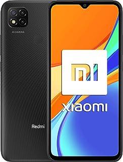 """Xiaomi Redmi 9C NFC-Smartphone con Pantalla HD+ de 6.53"""" DotDrop (3GB+64GB, Triple cámara trasera de 13MP con IA, MediaTek Helio G35, Batería de 5000 mAh, 10 W de carga rápida), Gris [Ver.Española]"""