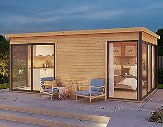 Allwood Palma 3   176 SQF 2 Room Studio Cabin Kit
