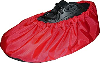 Washable Reusable Shoe and Boot Covers, RED, Made in USA, NonSkid, 4 Sizes