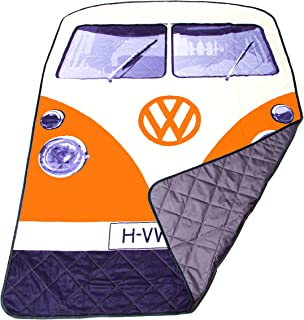 VW Volkswagen T1 Camper Van Picnic Blanket - Multiple Color Options Available