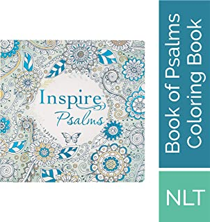Tyndale Inspire Psalms (Softcover): Creative Coloring Bible Journaling, Includes Entire Book of Psalms-Connect with God's Inspired Word Through ... Reflection-Large Font Journaling Bible Book