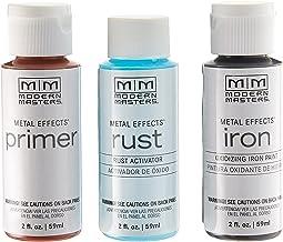 Modern Masters 306293 Rust Finish 2 oz. Metal Effects Kit
