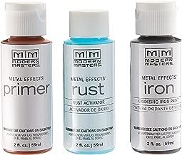 Modern Masters 306293 2 oz. Metal Effects Rust Finish Kit,