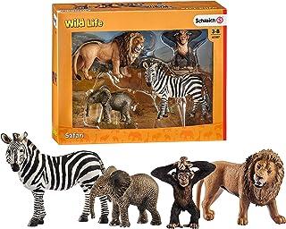 Schleich- Figurine Kit de Base Wild Life, 42387, Multicolore