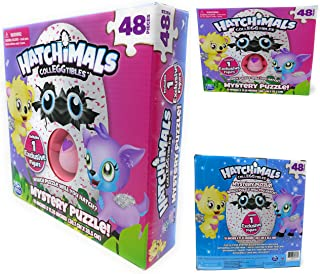 Hatchimals Colleggtibles Mystery Puzzle 48 Pieces - Includes 1 EXCLUSIVE Figure