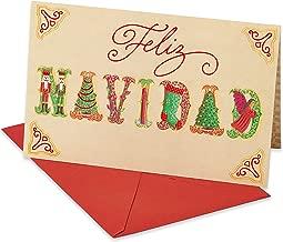 American Greetings Spanish Christmas Card (Feliz Navidad)
