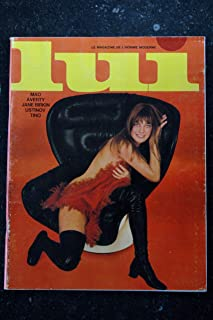 LUI 061 1969 FEVRIER COVER JANE BIRKIN & SERGE GAINSBOURG 6 PAGES MODE PORSCHE PIN-UP ASLAN