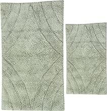 Castle Hill London Non-Slip Bathroom Rug 20 x 30//24 x 40 White