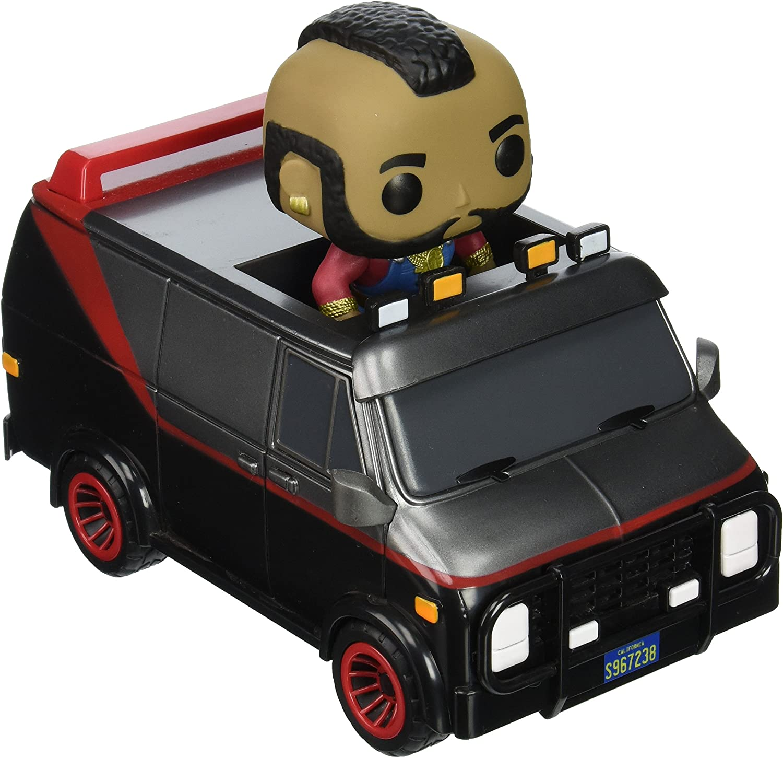 Funko 11001PC18T A ATeam  Van with B.A. Baracus A S1 Pop Rides, Multi