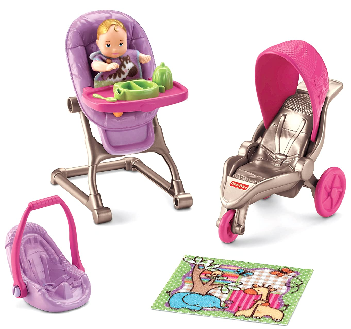 Fisher-Price Loving Family Everything for Baby f88112822