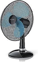Brandson Ventilateur de table - ventilateur de bureau 40 cm - 3 vitesses - Economie d'énergie 50W - silencieux, élégant et...