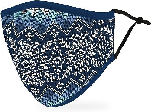 Weddingstar Masque en tissu lavable Tissu de protection réutilisable et réglable Couvercle avec poche pour filtre à p...