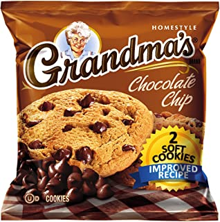 Grandma's Soft Cookies, Chocolate Chip, 2-Count (Pack of 6)