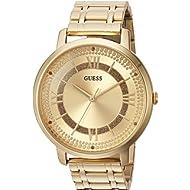 Women's Quartz Watch with Stainless-Steel Strap, Gold, 18 (Model: U0933L2)