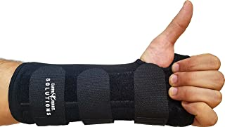 Carpal Tunnel Night Time Wrist Brace for Men and Women. Left Hand Splint by Carpal Tunnel Solutions - Relief for RSI, Cubital Tunnel, Tendonitis, Arthritis, Wrist Sprains and Support (Left Hand)