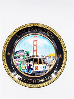 (44 7/18) San Francisco Color Collage Collectors Souvenir Plate 8