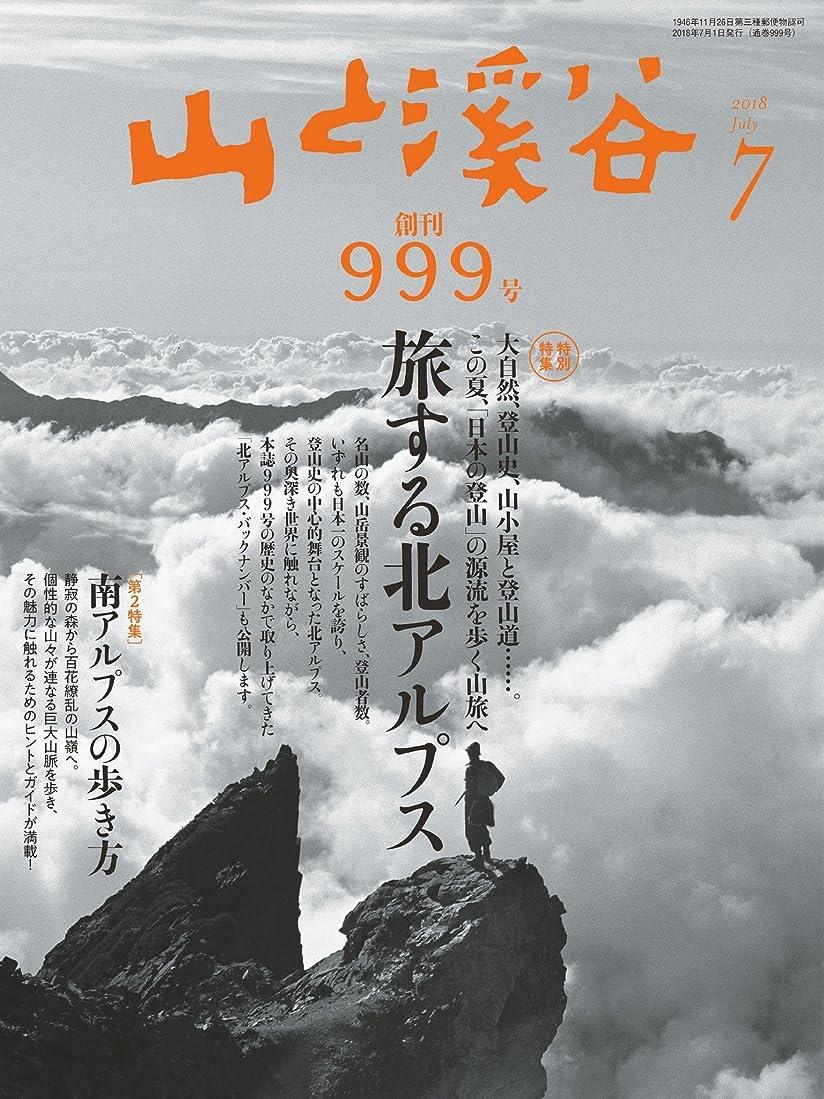 研究教育者宣教師山と溪谷 2018年 7月号 [雑誌]