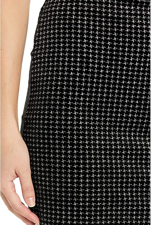 Silver Houndstooth