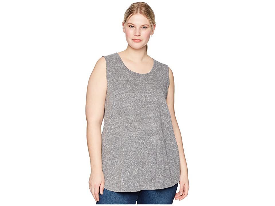 Aventura Clothing Plus Size Dharma Tank Top (Black) Women