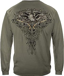 2nd Amendment Eagle Tattoo Long Sleeve T Shirt RN2256LS