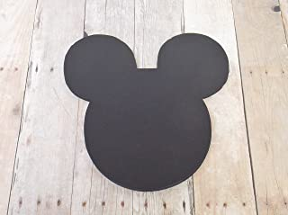 Mickey Mouse Black Head Die Cut Place Card Food Name Table Labels 50 Pieces