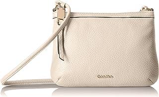 Calvin Klein Small Pebble Leather Crossbody