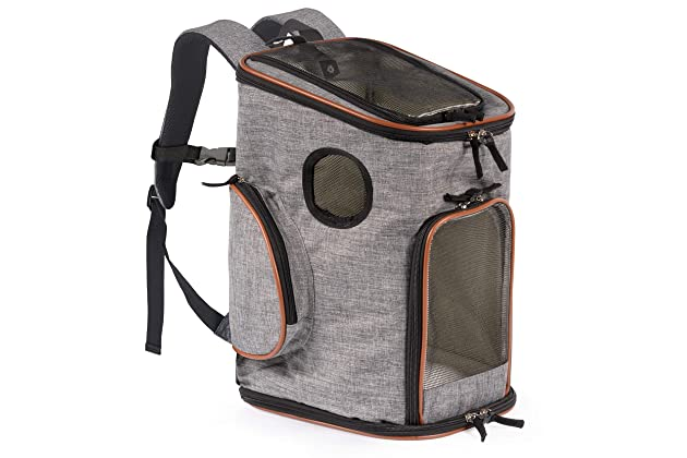 Pawfect Pets Soft-Sided Pet Carrier Backpack for Small Dogs and Cats  Airline-Approved, Designed for Travel, Hiking, Walking   Outdoor Use 68c0ace8e9