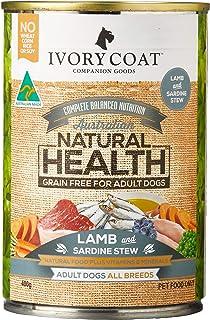 Ivory Coat Lamb & Sardine Stew 400gm Grain Free Dog Food, Adult and Senior