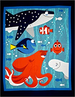 Springs Creative Products 0451378 Disney Finding Dory 34 In. Panel Blue