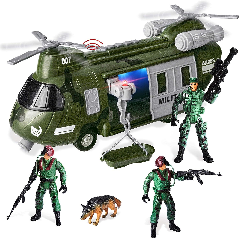 JOYIN Military Daily bargain sale Vehicles Toy Set Powered Friction National uniform free shipping Transport of He