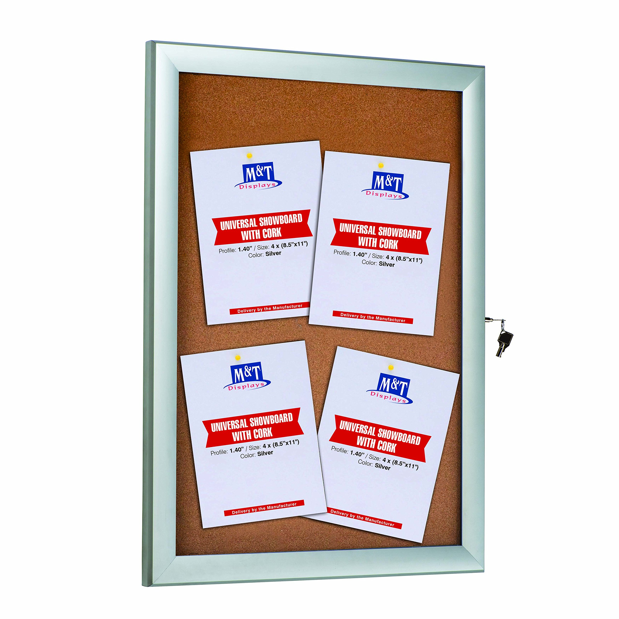 Enclosed Bulletin Outdoor Weatherproof Noticeboard