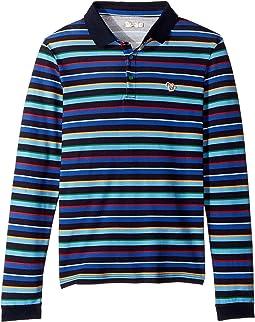 Paul Smith Junior - Striped Polo (Big Kids)