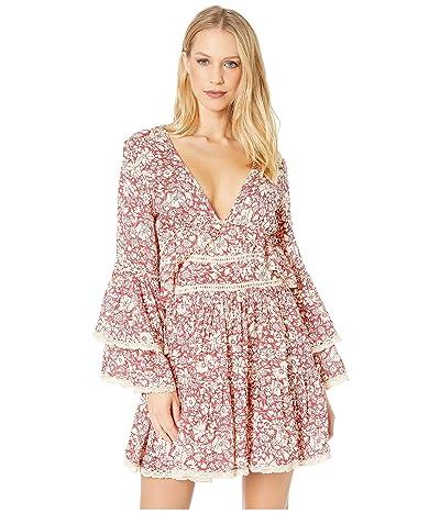 Free People Kristall Mini Dress (Raspberry) Women