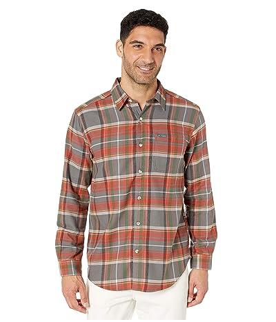 Columbia Boulder Ridge Long Sleeve Flannel (City Grey Multi Tartan) Men