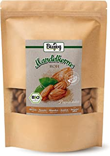 Biojoy BIO-Amandelen, rauw, ongezouten en ongeroosterd (1 kg)