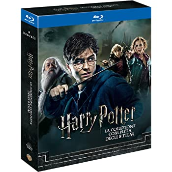 Harry Potter Collection (Standard Edition) (8 Blu-Ray)