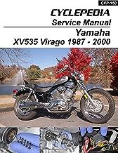 1987-2000 Yamaha XV535 Virago Service Manual