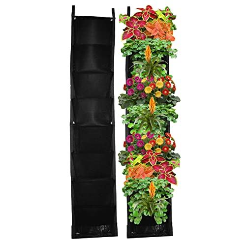 Charmant 8 Pocket Vertical Garden Planter U2013 Living Wall Planter U2013 Vertical Planters  U2013 For Outdoor U0026