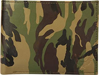Lorenz Army Green Pattern Printed Wallet for Men | Wallet for Boys- WL-23