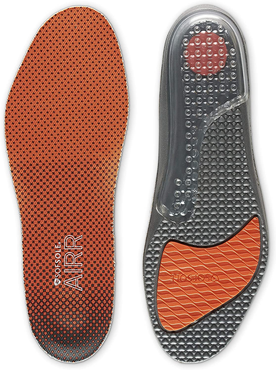 Sof Sole Insoles Factory outlet Men's AIRR Ins Performance Full-Length Gel Minneapolis Mall Shoe