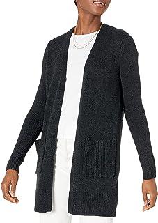 Amazon Essentials Jersey de Manga Larga con Puntadas Abiertas Suéter para Mujer