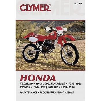 Clymer Shop Manual for Honda