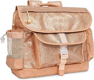 Bixbee Big Girls' Sparkalicious Gold Backpack, Large