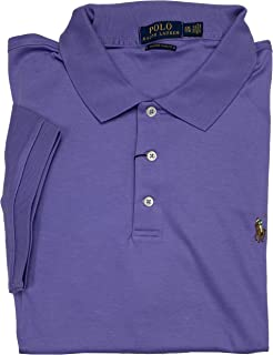 POLO RALPH LAUREN Men's Short Sleeve Custom Slim Fit Soft Touch Polo Shirt