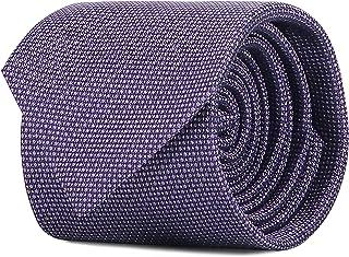 SCAPPINO Corbata Brera Unitalla con Diseño De Micropuntos Y Cuadros Morado Unica