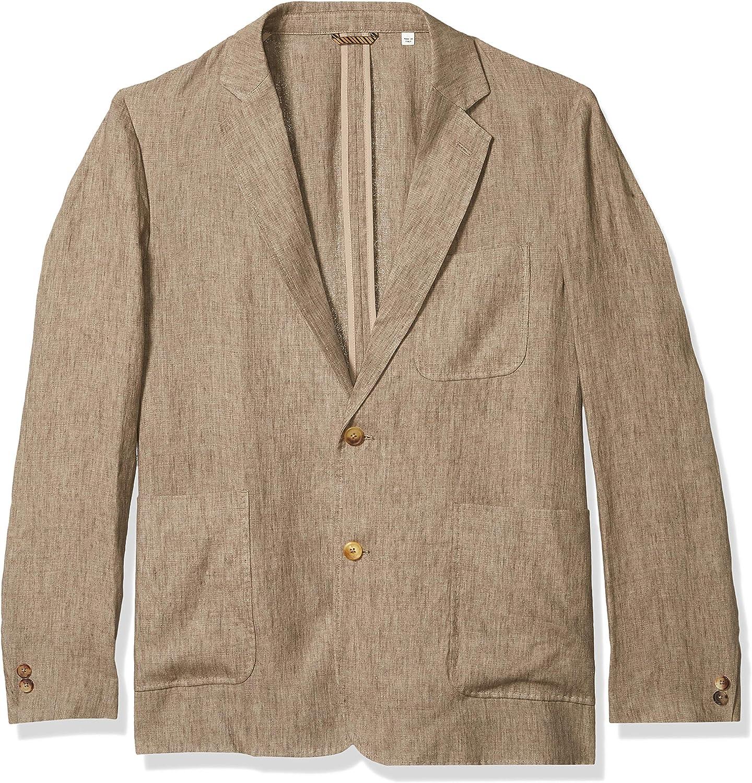 Billy Reid Men's Standard Fit Two Button Single Breasted Archie Sportcoat