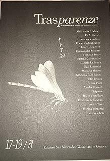 Trasparenze 17-19/2003. Dedicato interamente ad Amelia Rosselli (Italian Edition)