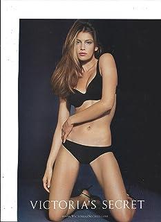 ba405adabe   PRINT AD   With Laetitia Casta For Victoria s Secret Black Body By  Victoria