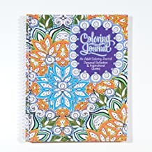 """School Datebooks Adult Coloring Journal - an Adult Coloring Journal with Inspirational Quotes - Spiral Bound - 6.625"""" x 9"""""""