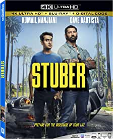Take a wild ride with STUBER on Digital Oct. 10 and 4K UHD, Blu-ray and DVD Oct. 15 from Fox